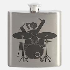Drummer Girl Flask