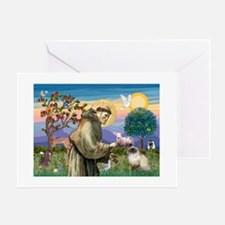 St Francis Himalayan Greeting Cards
