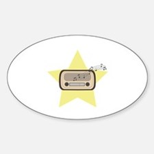Retro Radio Decal