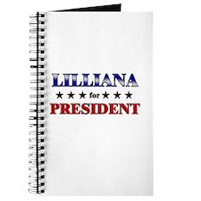 LILLIANA for president Journal