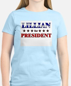 LILLIAN for president T-Shirt