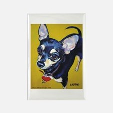 Itty Bitty Chihuahua Rectangle Magnet (100 pack)