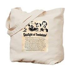 Gunfight at Tombstone Tote Bag