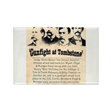 Gunfight at Tombstone Rectangle Magnet (100 pack)