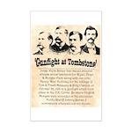 Gunfight at Tombstone Mini Poster Print