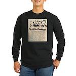 Gunfight at Tombstone Long Sleeve Dark T-Shirt