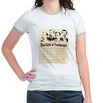 Gunfight at Tombstone Jr. Ringer T-Shirt