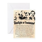 Gunfight at Tombstone Greeting Cards (Pk of 20)