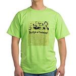 Gunfight at Tombstone Green T-Shirt