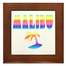 MALIBU the Beautiful Framed Tile