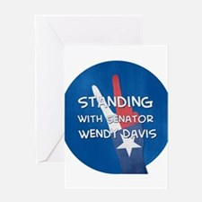 Standing with Wendy Greeting Cards