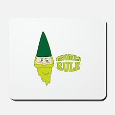 Gnomes Rule Mousepad