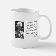 Mark Twain 40 Mug