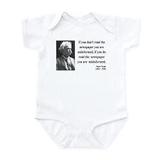 Mark Twain 40 Infant Bodysuit