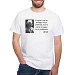 Mark Twain 40 White T-Shirt