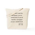 Mark Twain 40 Tote Bag