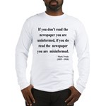 Mark Twain 40 Long Sleeve T-Shirt