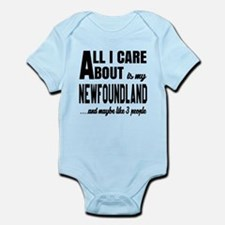 All I care about is my Newfoundlan Onesie