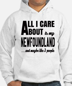 All I care about is my Newfoundl Jumper Hoody