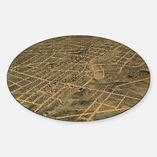 Unique Akron Sticker (Oval)