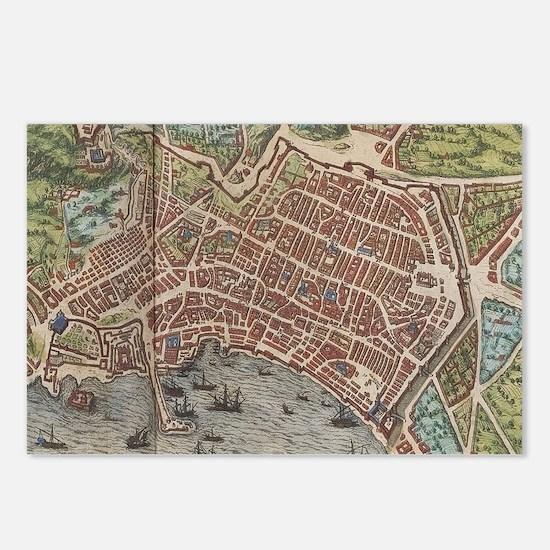 Unique Naples Postcards (Package of 8)