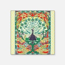 Art Nouveau Peacock Sticker