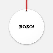 BOZO! Round Ornament