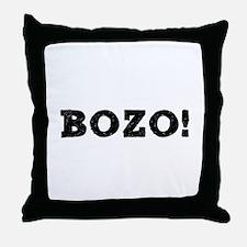 BOZO! Throw Pillow