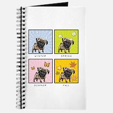 4 Seasons Pug Journal