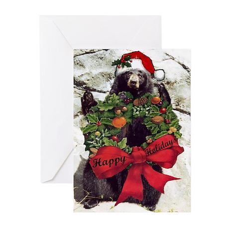 Black Bear Greeting Cards Cafepress