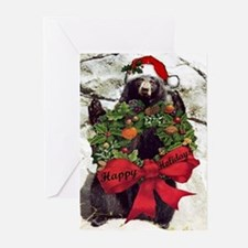 Holiday Bear Greeting Cards