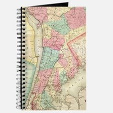 Cool Antique map Journal
