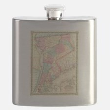 Funny Antique maps Flask
