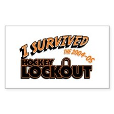 LOCKOUT Rectangle Decal