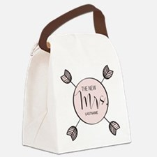 The New Mrs Personalized Bride Canvas Lunch Bag