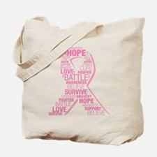 Breast Cancer Awareness - Collage Tote Bag