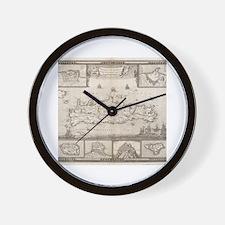 Funny I love greece Wall Clock