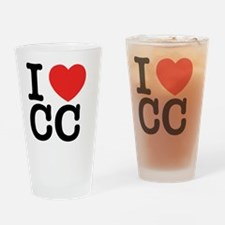 Cute Cc Drinking Glass