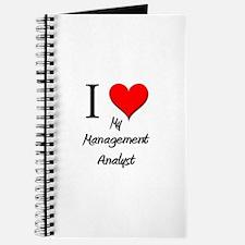 I Love My Management Analyst Journal