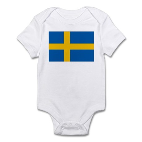 Swedish Flag Infant Bodysuit