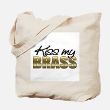 Kiss My Brass Tote Bag