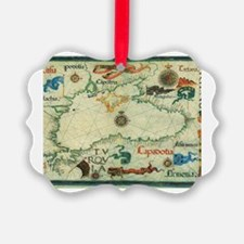 Cute Black history heart Ornament