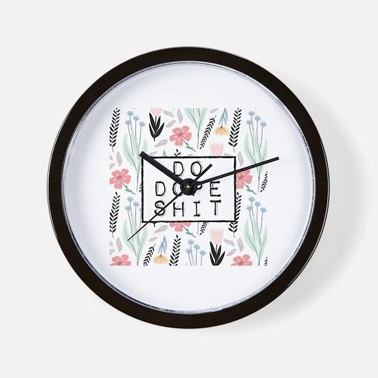 Unique Hare krishna Wall Clock