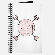 Wifey Bride Personalized Journal