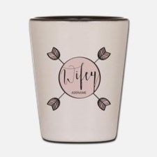 Wifey Bride Personalized Shot Glass