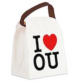 Ou Canvas Lunch Bag