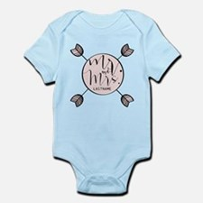 Mr And Mrs Trendy Personalized Onesie