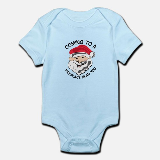 Coming To Fireplace Body Suit