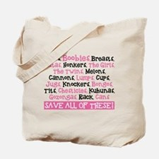 Breast Cancer Awareness - Save All Of The Tote Bag