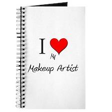 I Love My Makeup Artist Journal